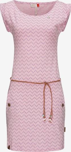 Ragwear Sommerkleid 'Tag Zig Zag' in karamell / helllila / pastellpink, Produktansicht