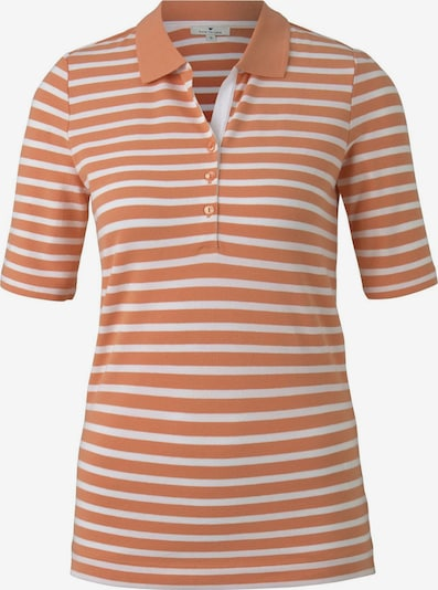 TOM TAILOR Poloshirt in pastellorange, Produktansicht