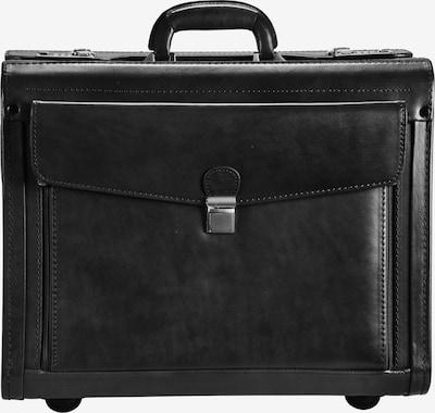 Dermata Pilotenkoffer in schwarz, Produktansicht