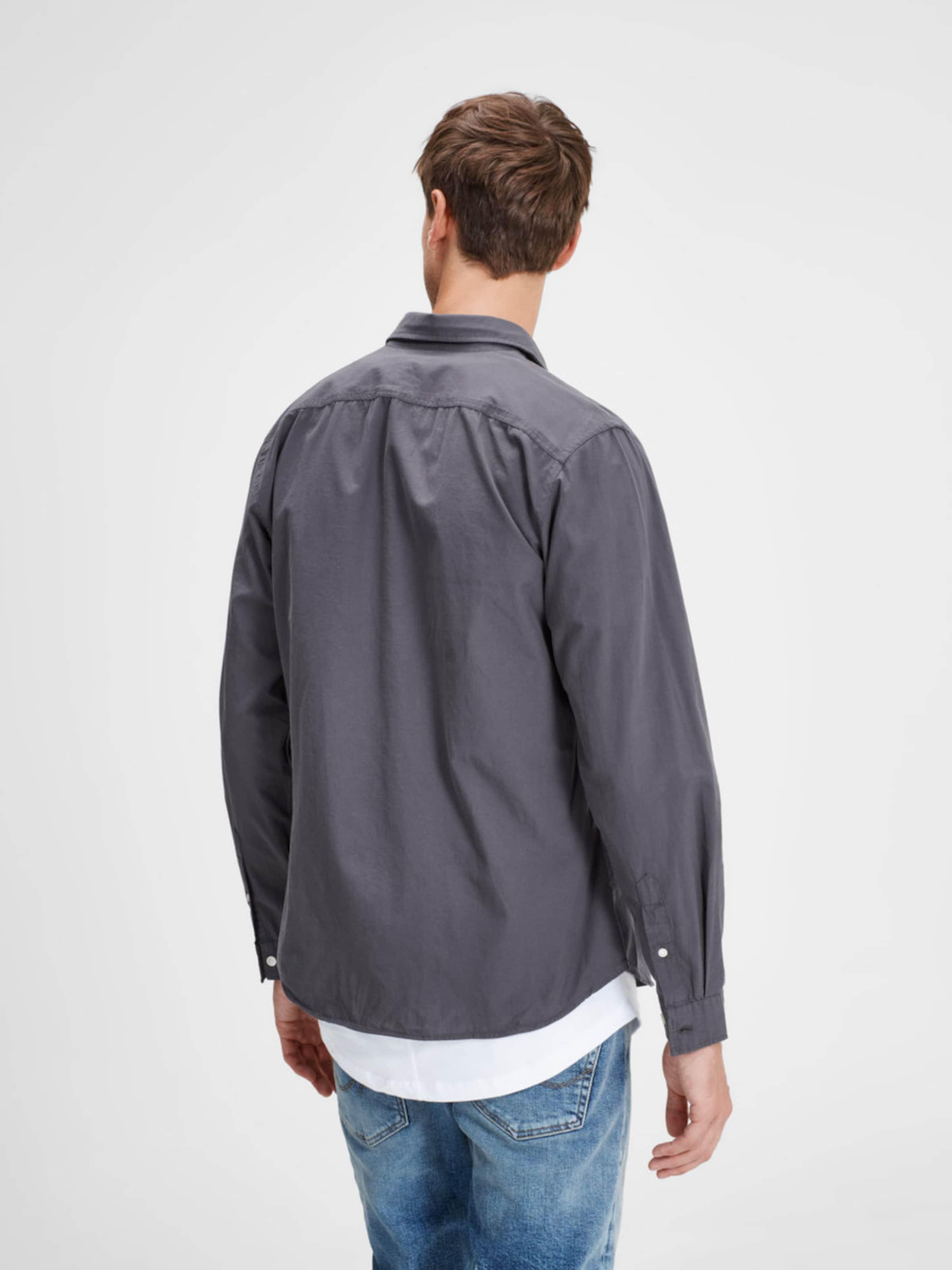 JACK & JONES Lässiges Langarmhemd Sehr Billig Verkauf Online Günstige Spielraum JiPQISpxMM