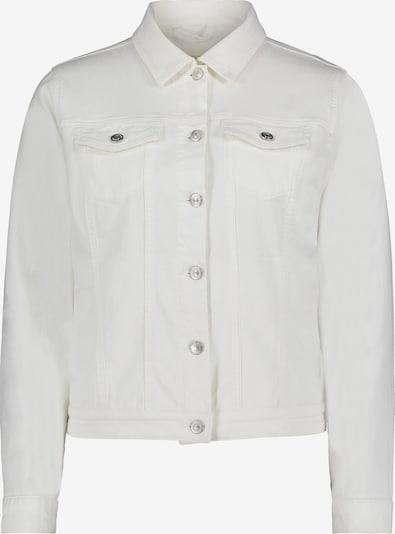 Cartoon Casual-Jacke mit aufgesetzter Brusttasche in weiß, Produktansicht