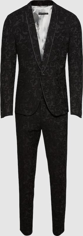 DRYKORN Anzug 'Q-BELLAC' in schwarz  Markenkleidung für Männer und Frauen
