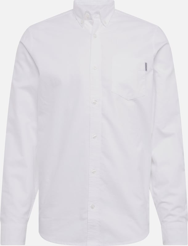 Carhartt WIP Hemd 'L/S Button Down Pocket' in weiß, Produktansicht