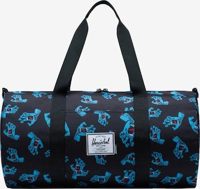Herschel Tasche 'Sutton' in blau / nachtblau / rot, Produktansicht