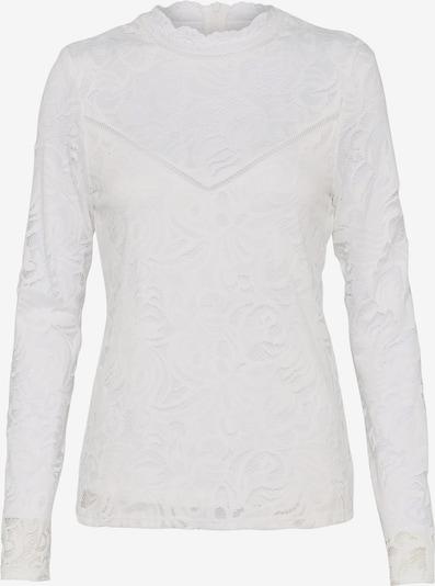 VILA Spitzen-Oberteil mit langen Ärmeln in weiß, Produktansicht