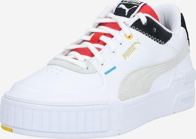 PUMA Chaussure de sport 'Cali' en turquoise / gris clair / rouge pastel / noir / blanc, Vue avec produit