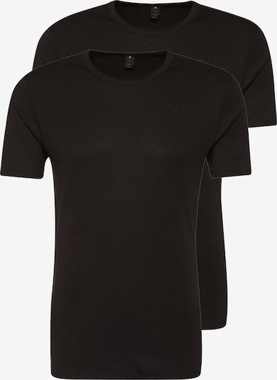 G-Star RAW Majica 'Base' | črna barva, Prikaz izdelka