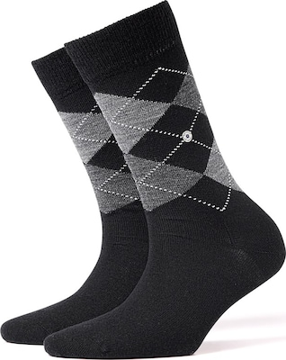 BURLINGTON Schurwollsocken 'Marylebone'