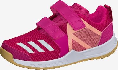 ADIDAS PERFORMANCE Trainingsschuh 'FortaGym CF' in pastellorange / pink / eosin / weiß, Produktansicht