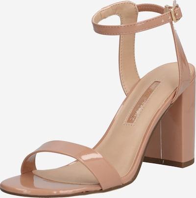 Dorothy Perkins Sandały z rzemykami 'Shimmer' Heeled Sandal' w kolorze różowy pudrowym, Podgląd produktu