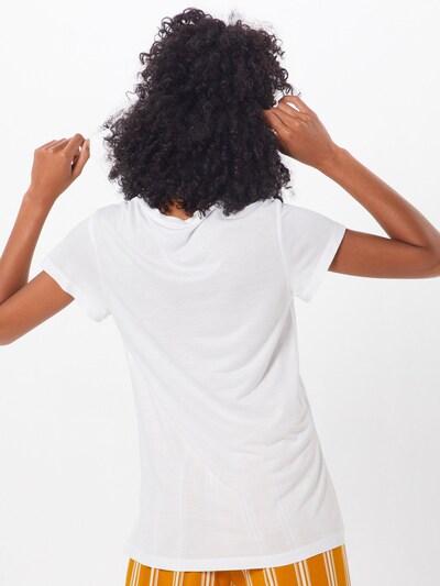 Kaffe T-shirt 'Anna' en blanc: Vue de dos