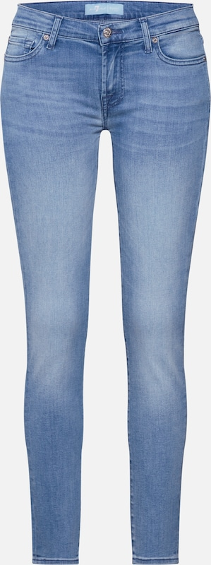 7 for all mankind Jeans 'THE SKINNY CROP BAIR MIRAGE' in hellblau, Produktansicht