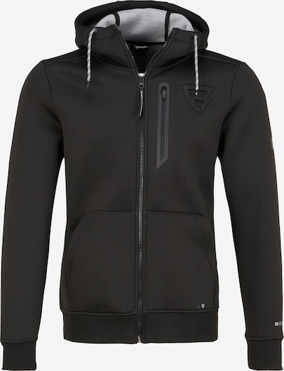 BRUNOTTI Sweatjacke 'Staghorn' in schwarz, Produktansicht