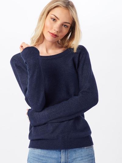 VILA Pull-over 'Ril' en bleu foncé, Vue avec modèle