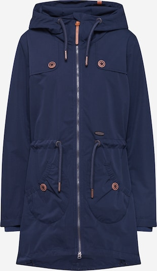 Alife and Kickin Tussenparka 'Charlotte' in de kleur Marine, Productweergave