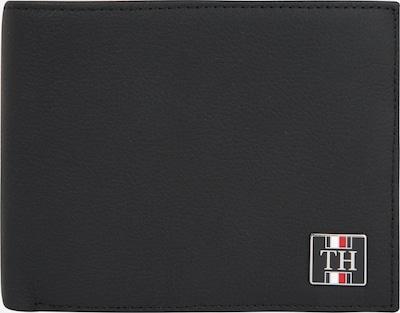 TOMMY HILFIGER Portemonnaie 'SOLID CC FLAP AND COIN in schwarz, Produktansicht