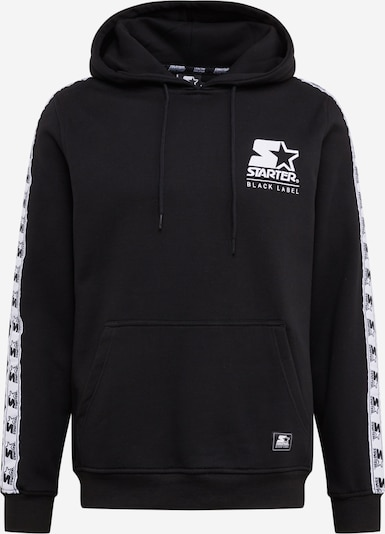 Starter Black Label Sweatshirt in schwarz, Produktansicht