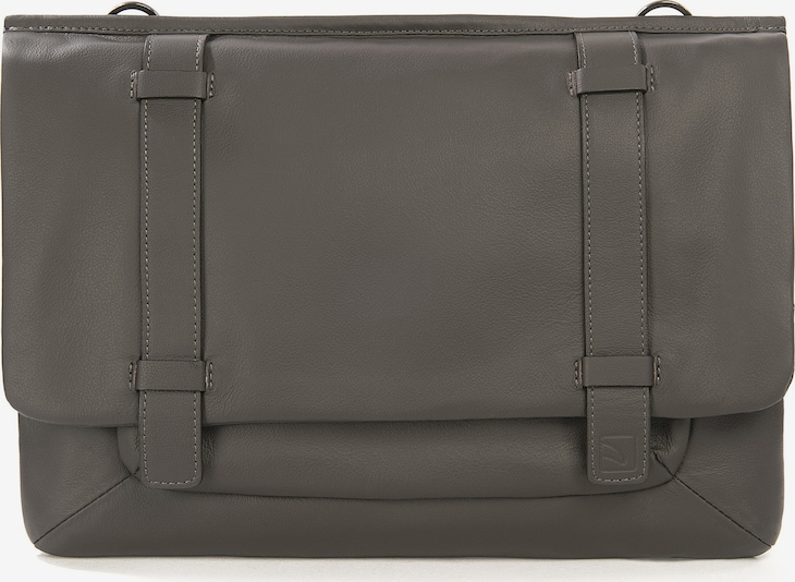 TUCANO Tablethoes 'Leather bag 11 inch' in de kleur Grijs, Productweergave