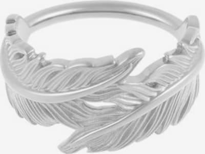 ID Fine Ring 'Feder' in silber: Frontalansicht