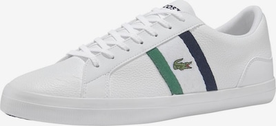 LACOSTE Sneaker 'Lerond' in navy / grasgrün / weiß, Produktansicht