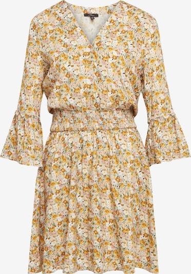Mavi Kleider Kurz ' PRINTED DRESS ' in gelb / weiß, Produktansicht