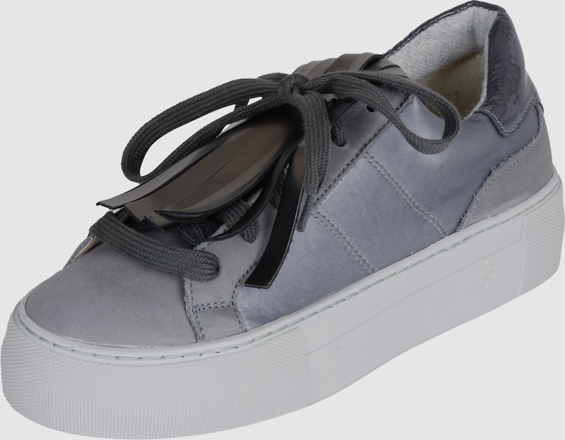 marc o 39 polo sneaker mit fransen in grau about you. Black Bedroom Furniture Sets. Home Design Ideas