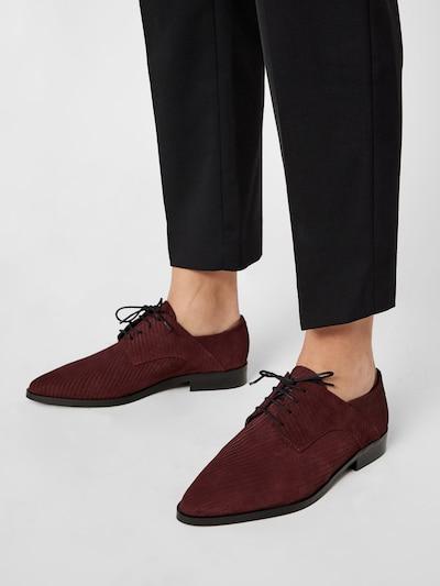Bianco Schuhe in burgunder: Frontalansicht