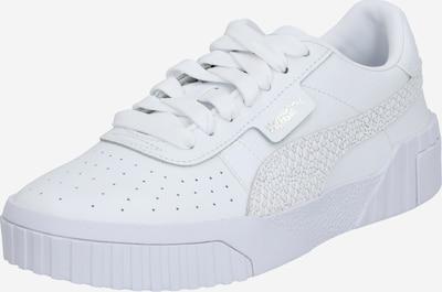 PUMA Baskets basses 'Cali' en blanc, Vue avec produit