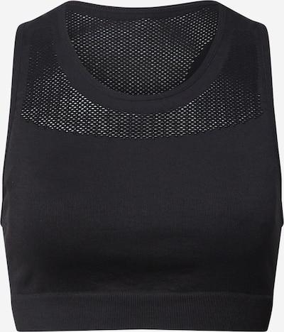 NU-IN Sport-BH in schwarz, Produktansicht