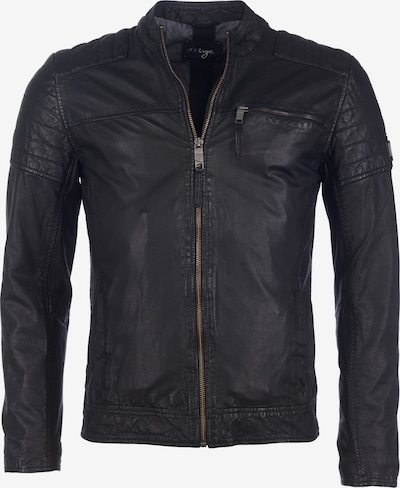 Maze Lederjacke 'Rocha' in schwarz, Produktansicht