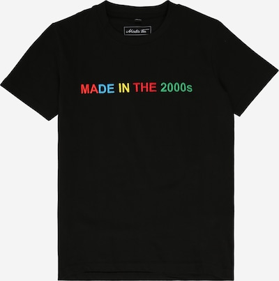 Mister Tee Top 'Made In The 2000s EMB Tee' in schwarz, Produktansicht