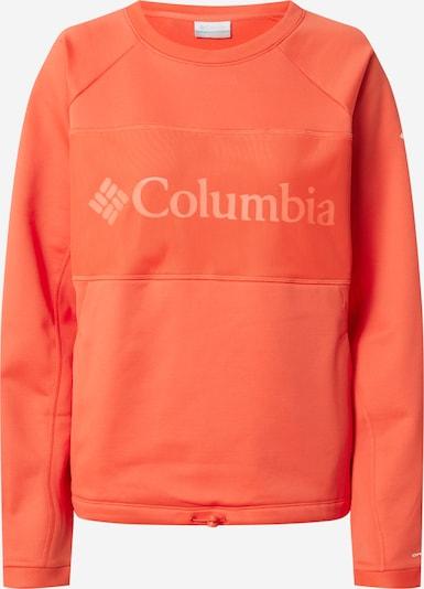 COLUMBIA Sweat de sport 'Windgates' en orange, Vue avec produit