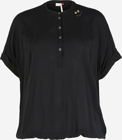 Tricou 'RICOTA' Ragwear Plus pe negru, Vizualizare produs