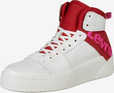 LEVI'S Schuhe ' MULLET BSK S ' in rot / weiß, Produktansicht