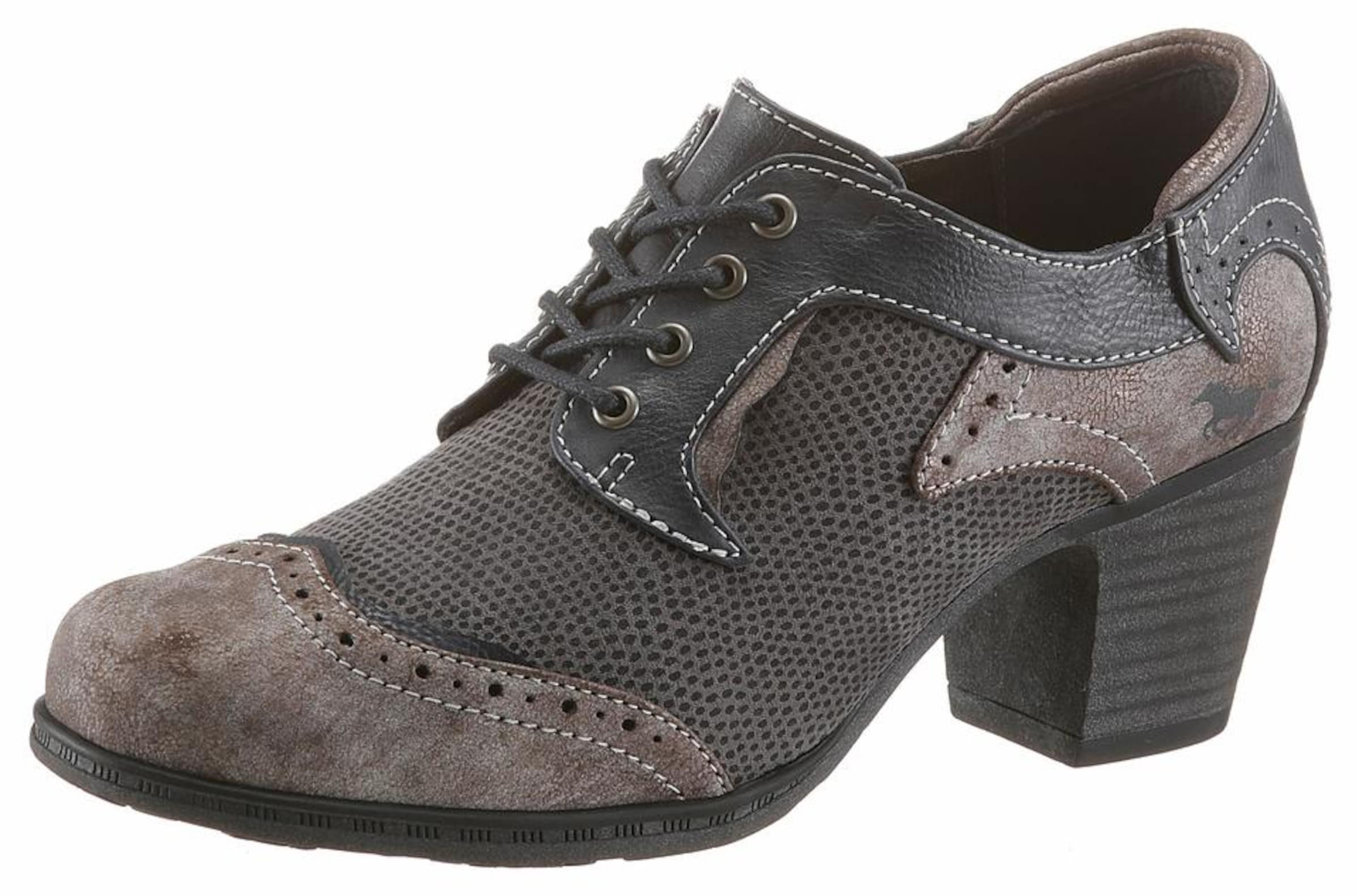 MUSTANG Schnürpump Verschleißfeste billige Schuhe Hohe Qualität