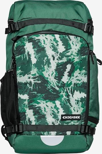 CHIEMSEE Sac à dos de sport en vert / blanc, Vue avec produit