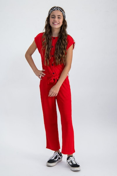 GARCIA Jumpsuit in rot: Frontalansicht