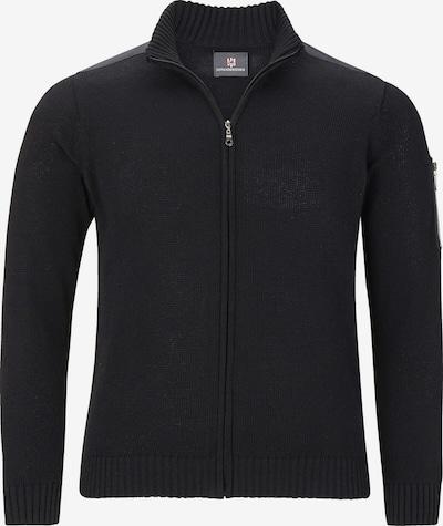 Jan Vanderstorm Strickjacke 'Kristafar' in schwarz, Produktansicht