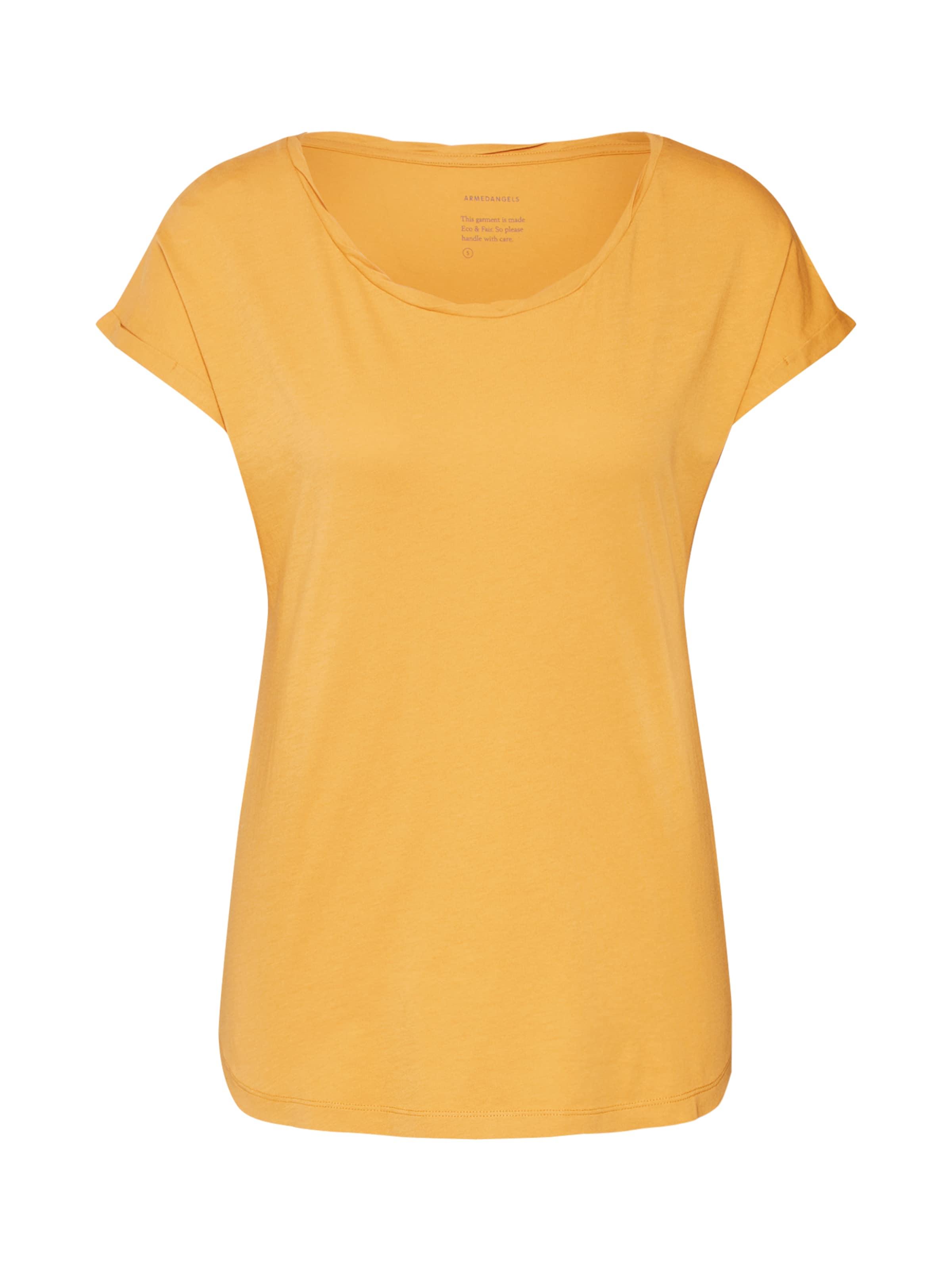 In shirt 'lale' T Armedangels Karamell l1JTFc3K