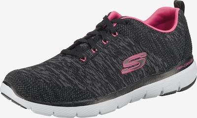 SKECHERS Zemie apavi 'FLEX APPEAL 3.0' pieejami pelēks / antracīta / rozā, Preces skats