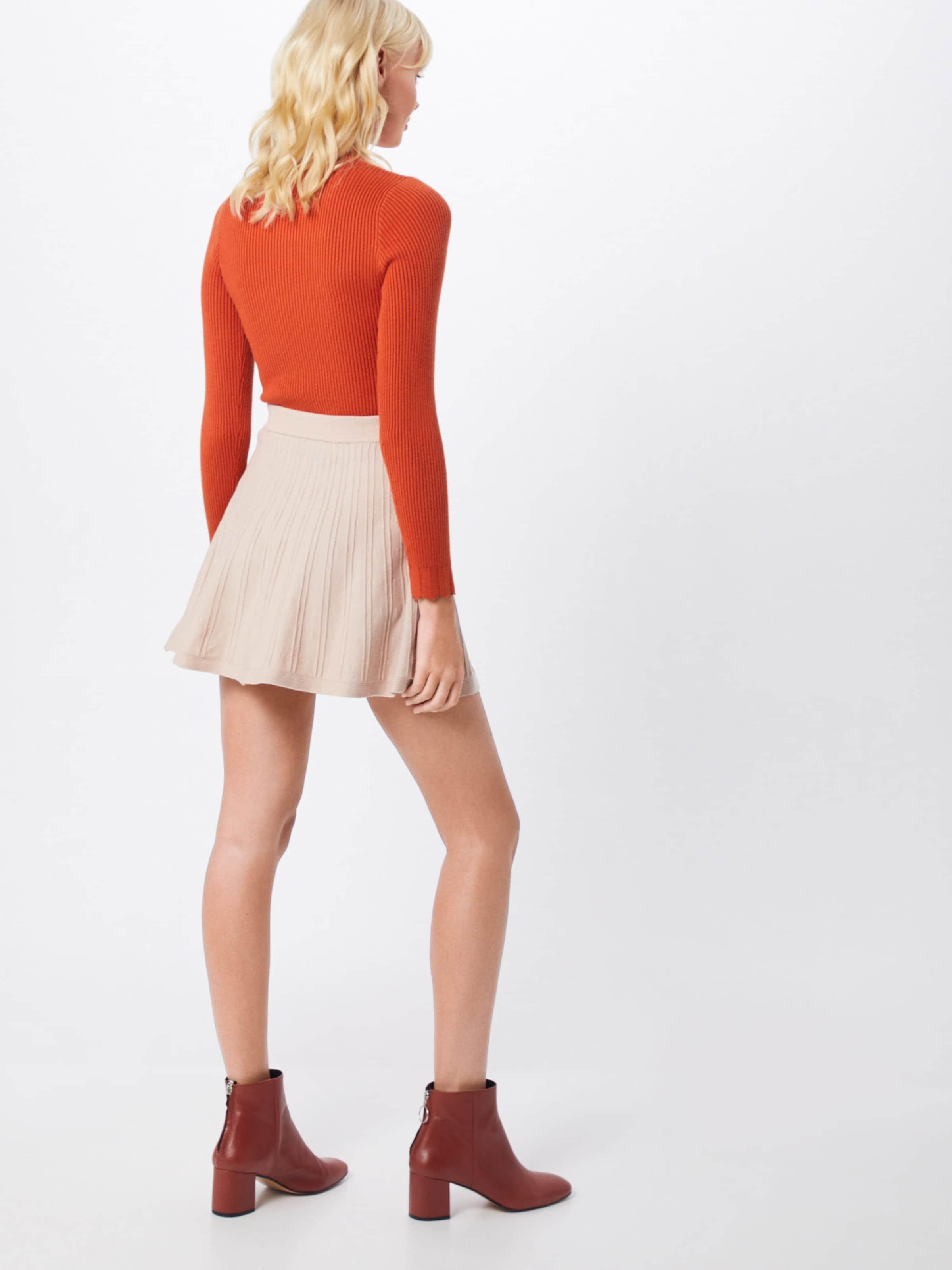 'flipside En Lines Parallel Nude Skirt' Jupe 5A4Lj3R