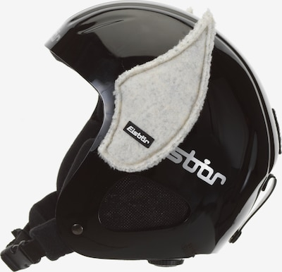 Eisbär Helm 'Elfenohren' in schwarz, Produktansicht