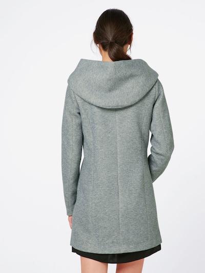 ONLY Płaszcz przejściowy 'SEDONA' w kolorze jasnoszarym: Widok od tyłu