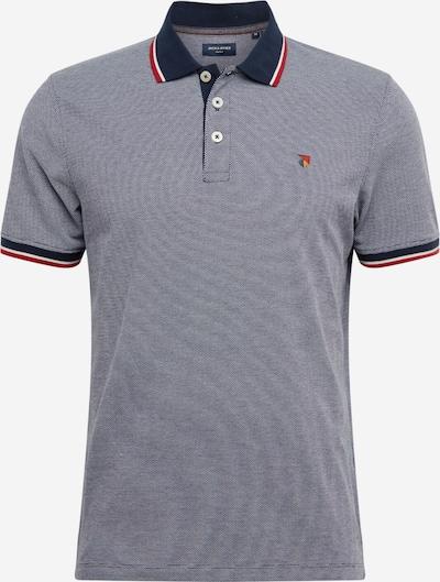 JACK & JONES Majica | mornarska / golobje modra / rdeča / bela barva, Prikaz izdelka