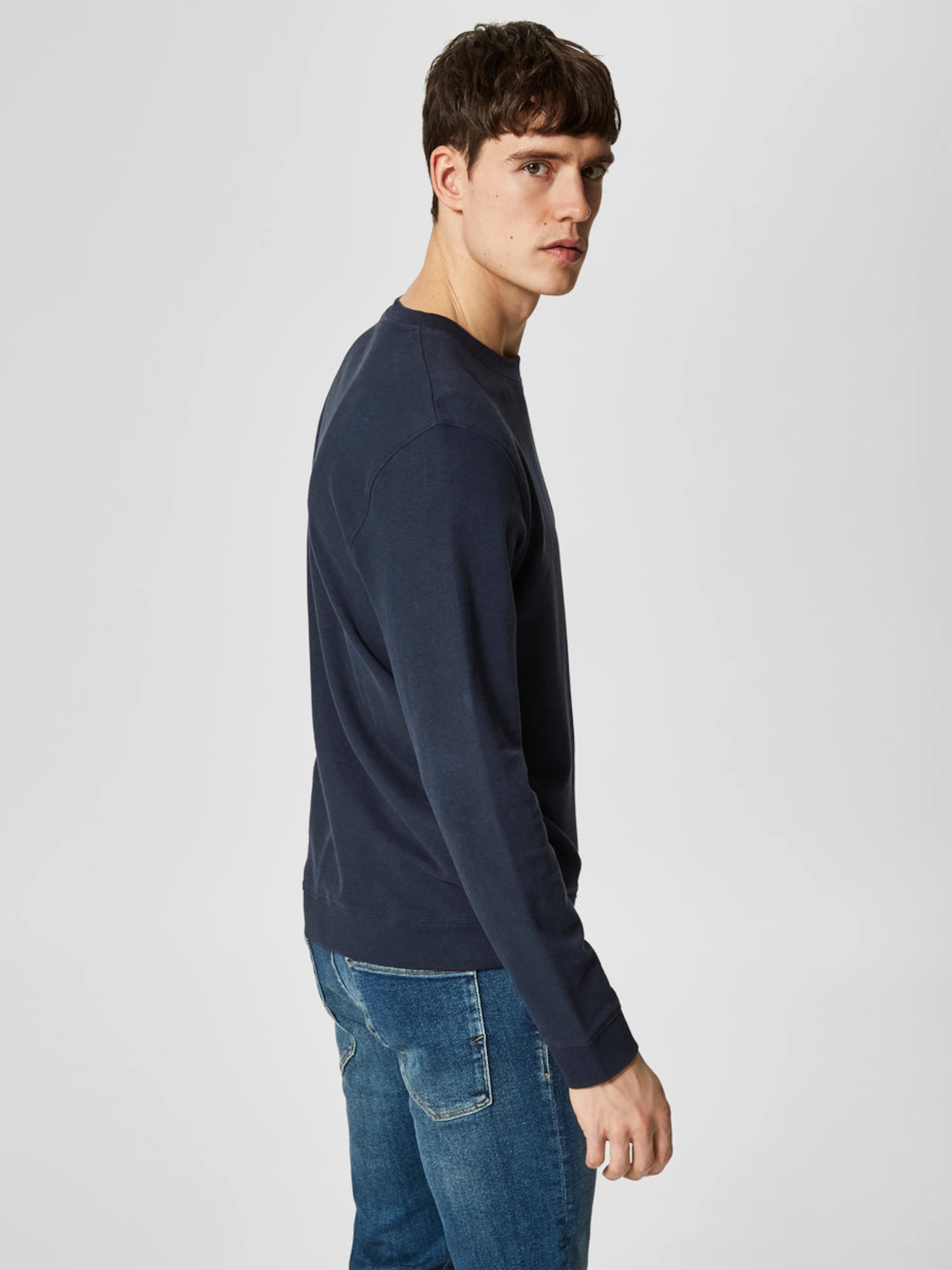 Countdown-Paket Zum Verkauf SELECTED HOMME Sweatshirt Zu Verkaufen Billig Verkauf Online-Shopping Günstig Kaufen Vermarktbare Outlet Besten Preise SOTt90JE