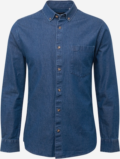 Only & Sons Overhemd 'BASIC' in de kleur Blauw denim, Productweergave