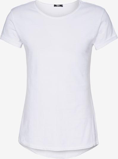 tigha T-Shirt 'Milo' en blanc, Vue avec produit