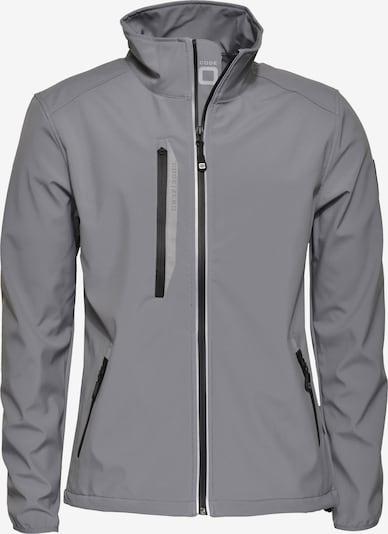 CODE-ZERO Softshell-Jacke 'HALYARD' in grau, Produktansicht