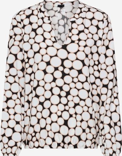 s.Oliver BLACK LABEL Bluse in creme / schwarz, Produktansicht