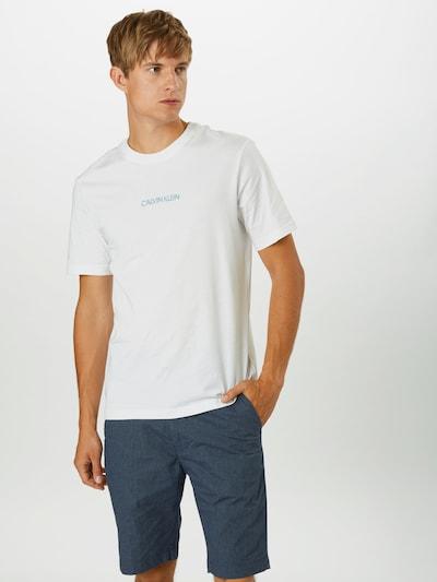 Calvin Klein Tričko 'SHADOW' - biela, Model/-ka